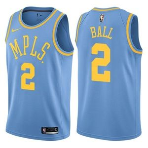 Lonzo Ball #2 Los Angeles Lakers swingman jersey
